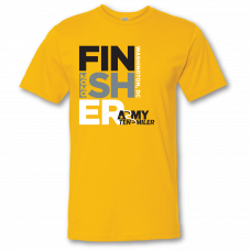 2020 Finisher Text Tee - Gold