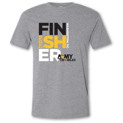 2020 Finisher Text Tee - Grey