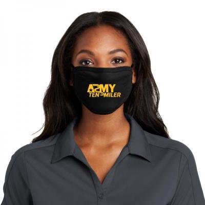 Army Ten Miler Mask - Front Logo