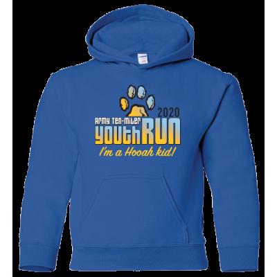 Army Ten Miler Youth Run Hoodie - Royal Blue